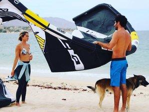 7 Tage Glamping und Kiteboard Unterricht in La Ventana, Baja California Sur