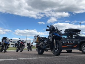 51 Days Great Motorcycle Tour in Eurasia from India to London, UK