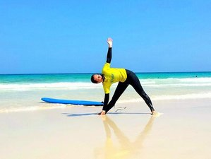 8-Daagse Pilates, Surf en Yoga Retraite in Fuerteventura, Spanje