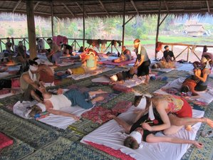 28 jours en stage de yoga et massages thai au Laos