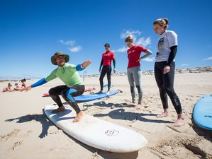 5 Days Budget Surf and Yoga Retreat in Colares, Portugal