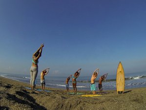 7 Days Yoga and Surf Retreat in Bali, Indonesia