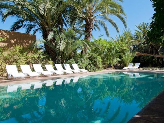 7 Days Luxury Yoga Retreat in Jnane Tamsna, Morocco