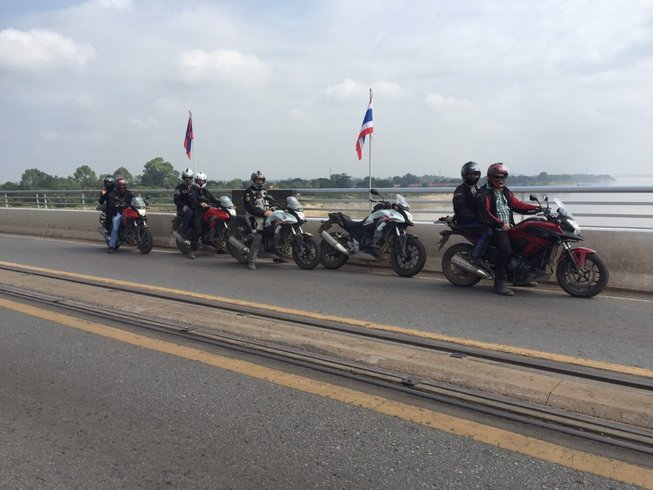 12 Days Guided Motorcycle Tour in Thailand and Laos
