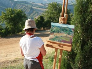 8 Days Painting and Yoga Retreat in Italy