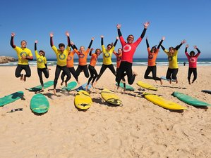 8 Days Enjoyable Surf Camp in Baleal Ferrel, Portugal