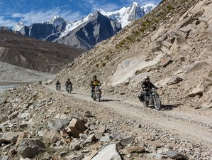 16 Day Through The Clouds Motorcycle Tour in High Himalaya, India