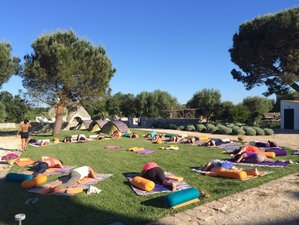 8 jours en stage de yoga pour retrouver l'énergie dans les Pouilles, Italie
