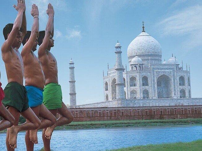 7 días tour de yoga con Taj en el norte de India