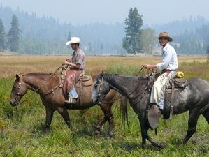 4 Days Ranch Vacation and Horseback Riding in Idaho, USA