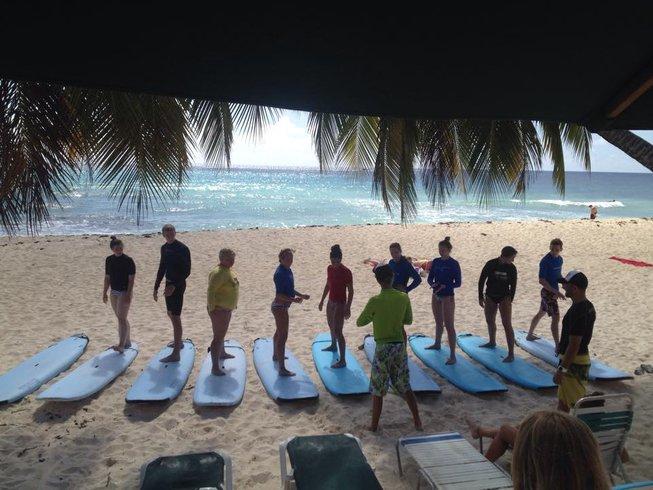 6 Days Beginner Surf Camp Barbados