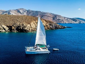 8 Days Sailing and Yoga Holiday from Syros in Cyclades, Greece