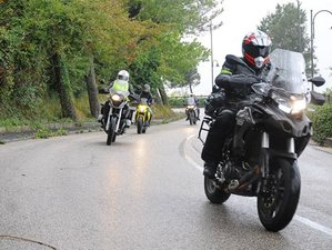 7 Day West Lands Rollercoaster Guided Motorcycle Tour in Italy