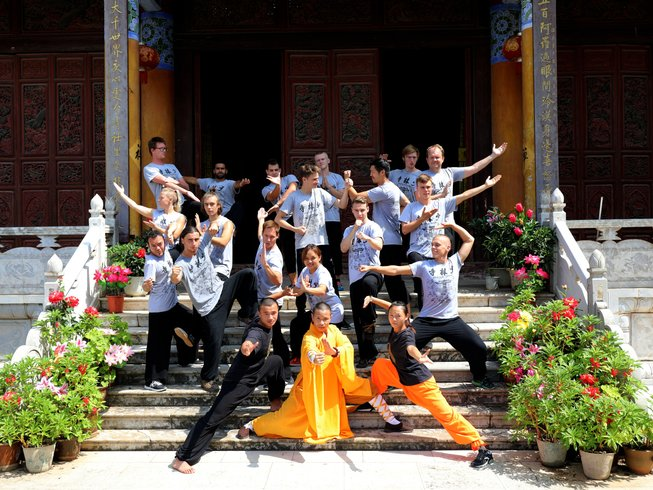 6 Months Songshan Shaolin Kung Fu Training in Mile, China