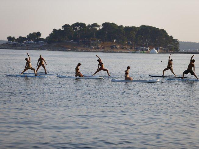7 Days SUP and Yoga Retreat in Croatia