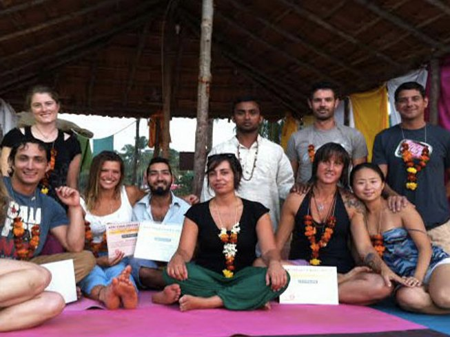 30 Days 300-Hour YTT in Rishikesh, India