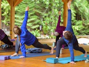 5 Days Riverside Escape Yoga Adventure Retreat British Columbia, Canada