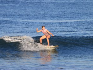 8 Day Challenging Beginners and Intermediate Surf and Stay Camp in Medewi, Bali