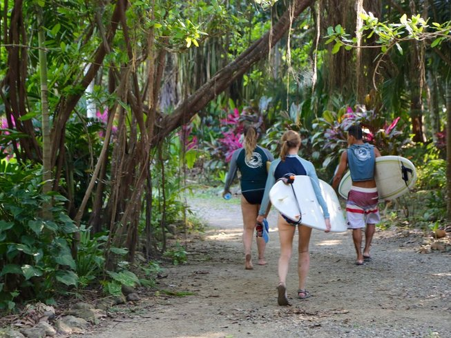 21 Days Surf and Yoga Retreat in Cabuya, Costa Rica