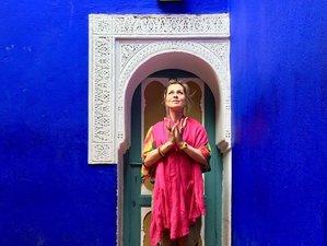 6 jours en stage de yoga dans un jardin-oasis à Marrakech, Maroc