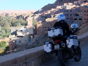 9 Day South of Morocco Guided Marrakech Loop Motorcycle Tour