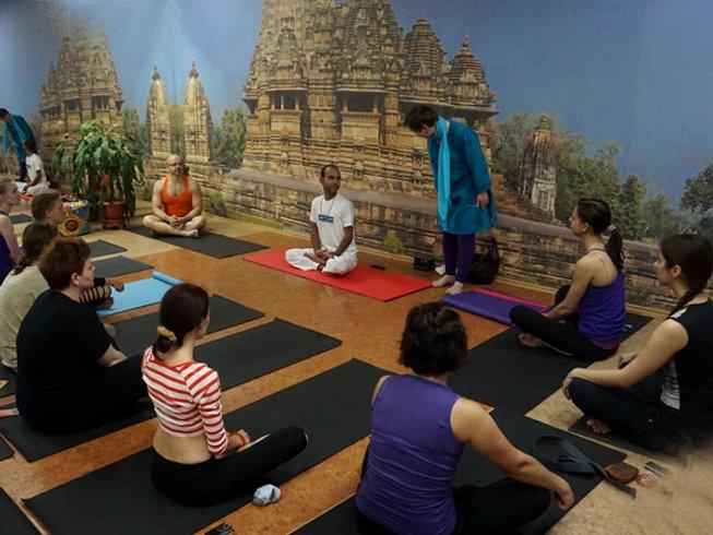 28 Days 200-Hour Beginner Level Hatha Yoga Teacher Training in Rishikesh, India