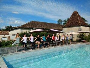 """6 días de retiro de yoga """"camino del yoga"""" en Dordoña, Francia"""