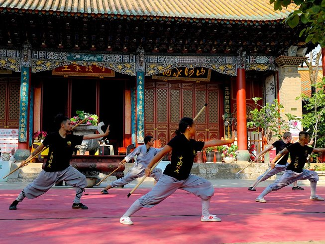 1 Month Authentic Shaolin Kung Fu Training in Shaolin Temple Yunnan, China