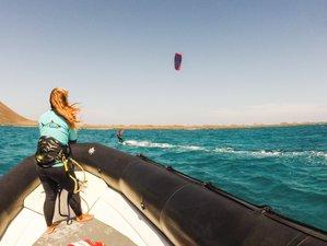 8 Days Red Shark Kitesurf Camp in Villaverde, Fuerteventura