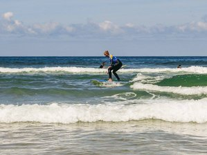 15 Days Intensive France Yoga Retreat and Surf Camp