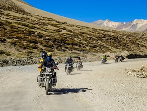 "7 Day Rajasthan ""Land of Kings"" Guided Motorcycle Tour in India"