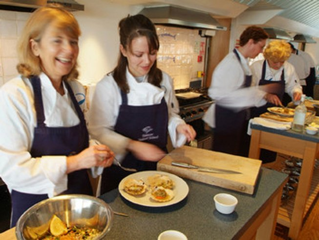 Short Cooking Holiday at Rick Stein Seafood School UK
