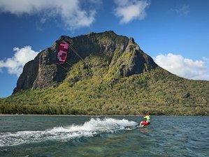 14 Tage Kitesurfen und Yoga Camp im Paradies von La Gaulette, Mauritius