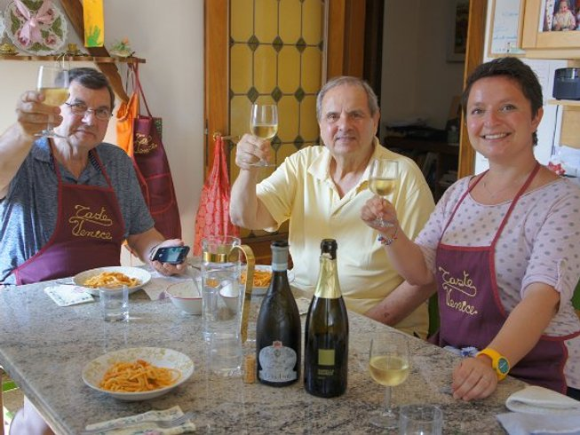 2 Days Cooking Holiday and Wine Tasting Venice