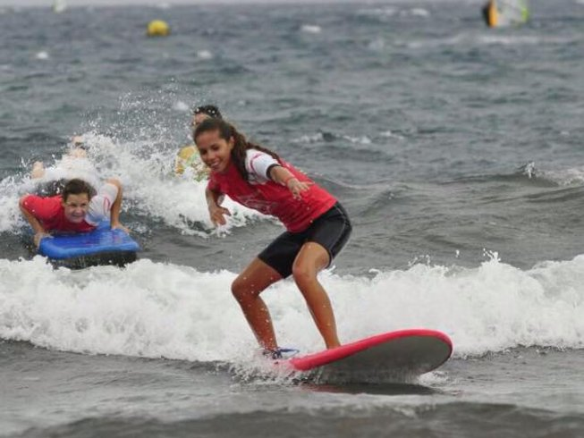 8 Days Surf Camp at Tenerife