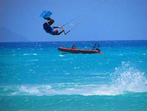8 Day Point Break Watersports Beginner Kitesurfing Camp in Corralejo, Fuerteventura