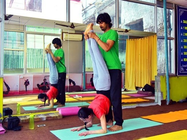 58 Days 500-Hour Yoga Teacher Training in Rishikesh, India
