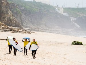 10 Day Intensive Surf Coaching for All Levels in Ericeira, Lisboa