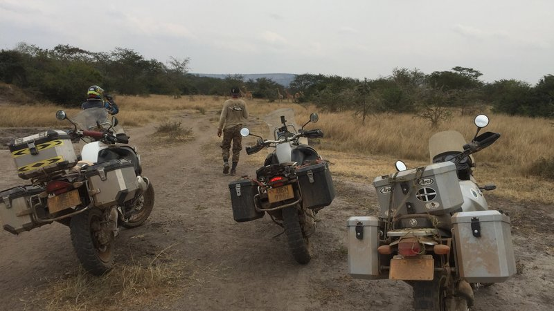 15 Days Guided Bmw Motorcycle And Safari Tour In Uganda