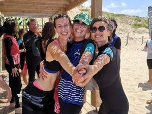 8 jours en vacances de yoga vinyasa et yin et naturopathie en bord de plage à Seignosse, Landes