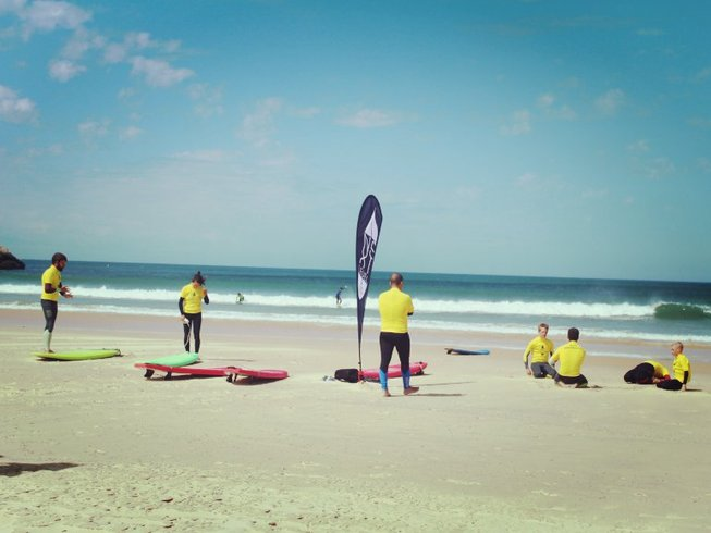 8 Days Supertubos Surf Camp Portugal
