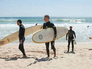 4 Day Adventure Surf Tour in Central Coast of Portugal: Cascais, Ericeira, and Peniche