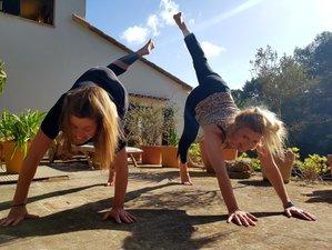 1 Woche Personalisierte Meditation, Gesundes Essen und Yoga Retreat an der Küste auf Mallorca, Balearen