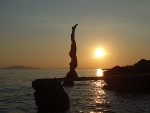 21 Days Hatha Yoga Beach Holiday with a Certified Teacher in Gokarna, India