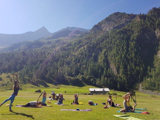 7 jours en stage de yoga, bien-être et randonnée dans les Alpes, France