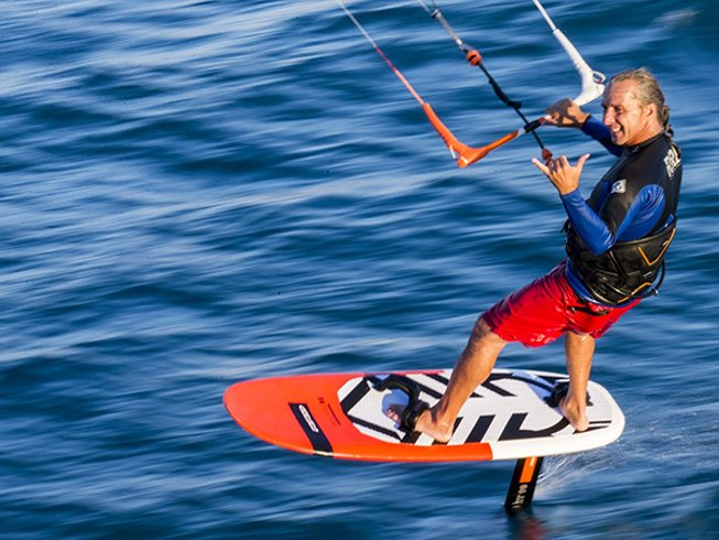7 Days Fly and Ride Kite Surf Camp in Sant'Antioco, Sardinia, Italy