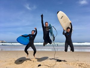 8 Day Surfer Monkey All-level Surf and Yoga Retreat in Baleal, Peniche