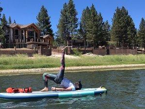 5 Tage Heilende Wasser und SUP Yoga Urlaub in Big Bear Lake, Kalifornien