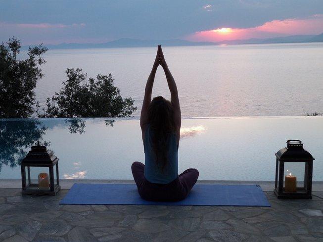 8 jours en retraite de yoga vinyasa avec les dauphins, Grèce