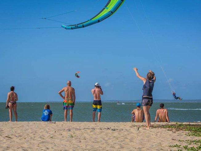 7 Days Kitesurfing Camp in Kandakuliya, Kalpitiya, Sri Lanka
